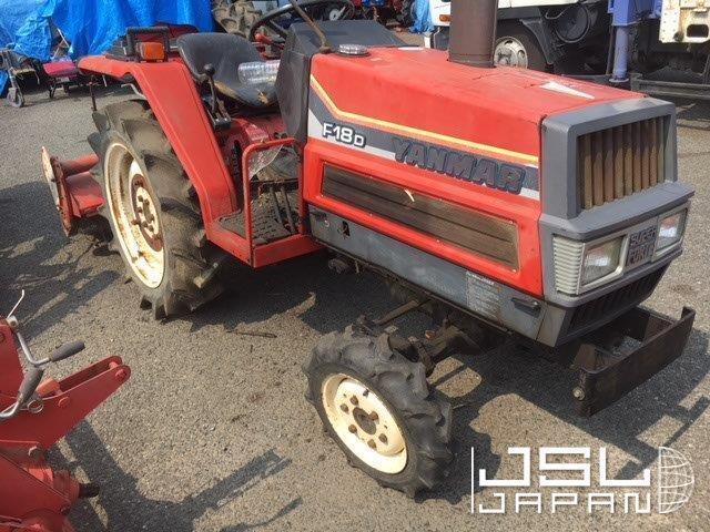 JSL JAPAN | F18DT ( Yanmar ) | Used Japanese Tractor