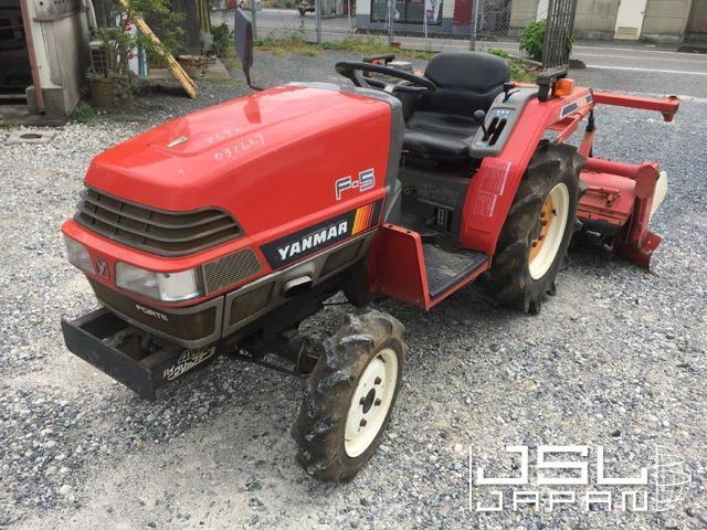 JSL JAPAN   F5DT ( Yanmar )   Used Japanese Tractor & Machinery